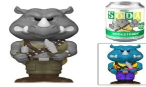 vinyl soda pops, rocksteady, teenage mutant ninja turtles, tv show, animated, sneak peek, entertainment earth, funko