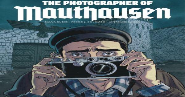 photographer of mathausen, comic, graphic novel, salva rubio, net galley, review, dead reckoning