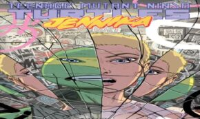jennika, teenage mutant ninja turtles, comic, graphic novel, brahm revel, net galley, review, idw publishing