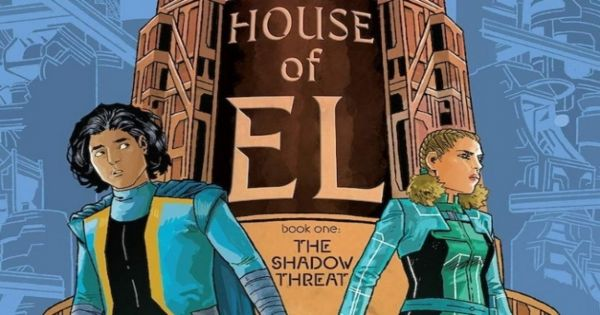the shadow threat, house of el, comic, graphic novel, young adult, teens, claudia gray, net galley, review, dc entertainment