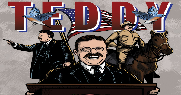 teddy, comic, graphic novel, historical fiction, laurence luckinbill, net galley, review, dead reckoning
