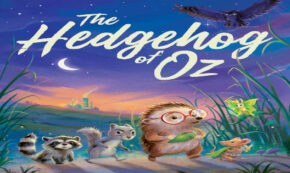 hedgehog of oz, children's fiction, cory leonardo, net galley, review, simon and schuster