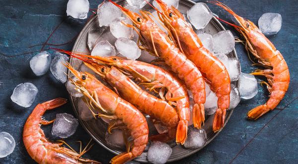 A Plate of Shrimp