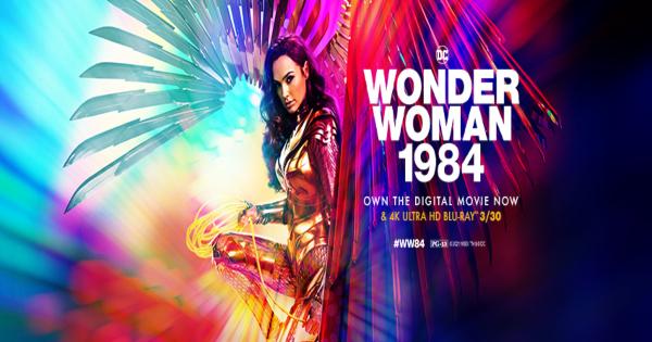 wonder woman 1984, sequel, superhero, dc, gal gadot, chris pine, blu-ray, review, warner bros pictures