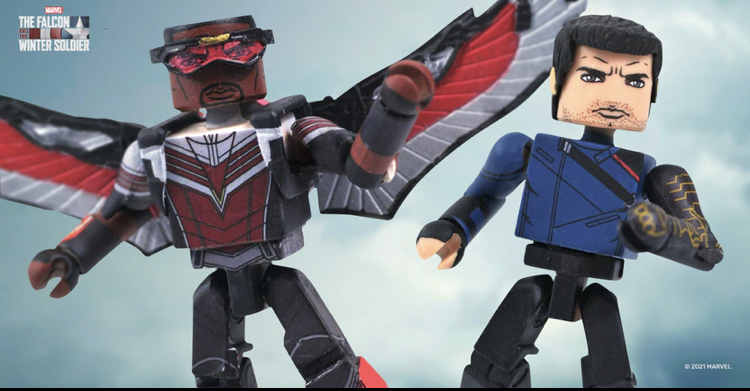 The Falcon and the Winter Soldier Hit Walgreens as Minimates Mini-Figures!