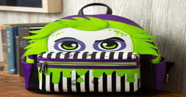 beetlejuice, mini back pack, comedy, fantasy, press release, fun.com