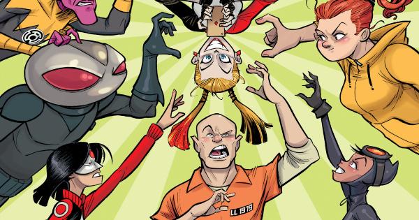dear dc supervillains, children's fiction, michael northrop, net galley, review, dc comics, dc entertainment