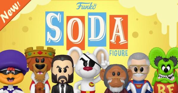 vinyl soda pop, stan lee, pogo, prince john, john wick, press release, entertainment earth, funko