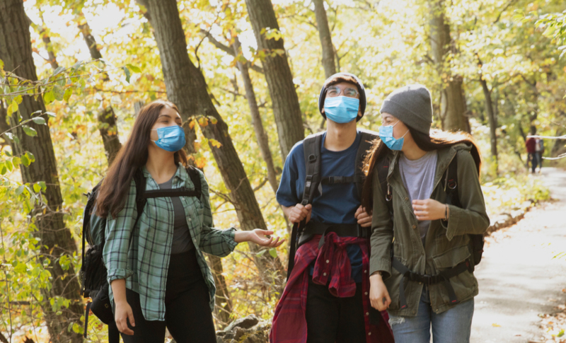 A Little Nature Can Boost Teens' Pandemic Well-Being