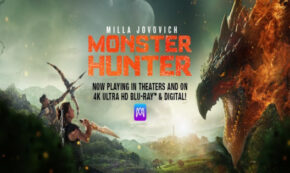 monster hunter, action, science fiction, fantasy, Milla Jovovich, blu-ray, review, sony pictures