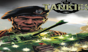 the tankies, comic, graphic novel, historical fiction, garth ennis, net galley, review, dead reckoning