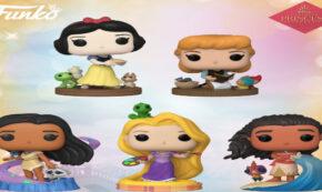 disney princess, funko pop, snow white, pocahontas, moana, aurora, rapunzel, press release, entertainment earth, funko