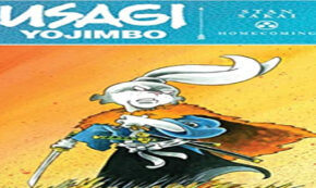 homecoming, usagi yojimbo, comic, graphic novel, stan sakai, net galley, review, idw publishing