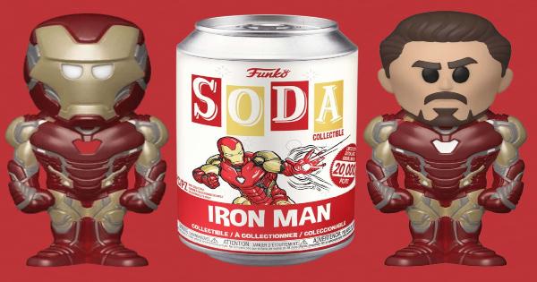 vinyl soda pop, iron man, marvel, superhero, press release, fun.com, funko