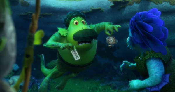 luca, computer animated, fantasy, comedy, review, pixar animation studios, walt disney pictures