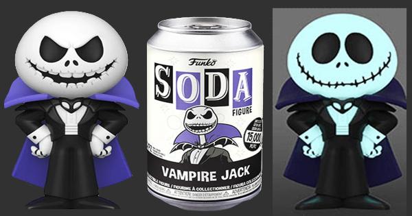 vinyl soda pop, vampire jack, nightmare before xmas, stop motion, animated, press release, fun.com, funko