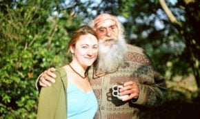 My father and I in South Africa (photo from author's collection)