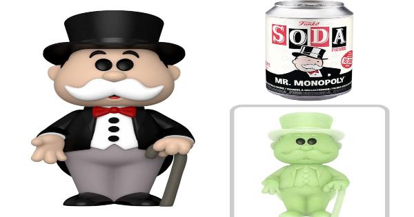 funko soda pops, mr monopoly, ad icon, board game, press release, funko, entertainment earth