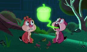 acorn in my side, chip and dale park life, animated, tv show, comedy, season 1, review, disney plus