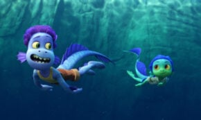 luca, computer animated, fantasy, blu-ray, review, pixar animation, walt disney studios