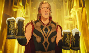 what if thor were an only child, tv show, animated, marvel, season 1, review, marvel studios, disney plus