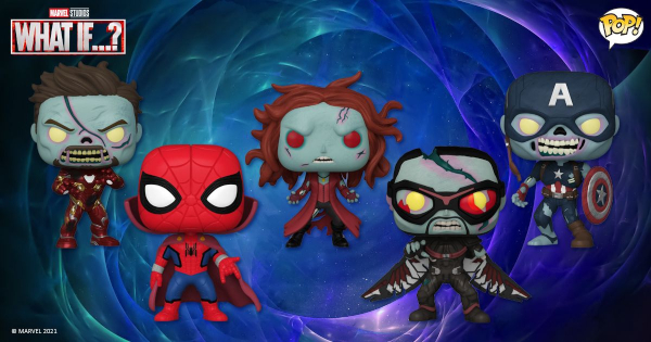 what if zombies, funko pop, marvel, zombie iron man, zombie scarlet witch, zombie captain america, press release, entertainment earth, funko
