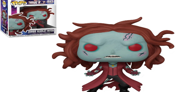 what if zombies, funko pop, zombie scarlet witch, press release, entertainment earth, funko