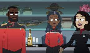 first first contact, lower decks, star trek, tv show, animated, comedy, season 2, review, paramount plus